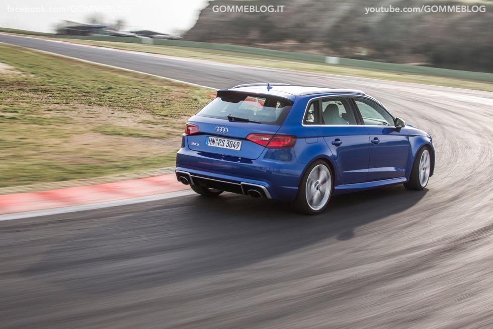 Nuova Audi RS 3 Sportback – La GALLERIA IMMAGINI COMPLETA 47