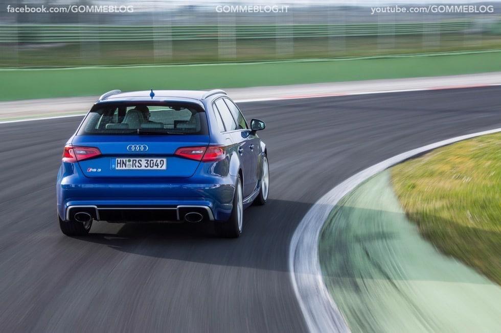 Nuova Audi RS 3 Sportback – La GALLERIA IMMAGINI COMPLETA 48