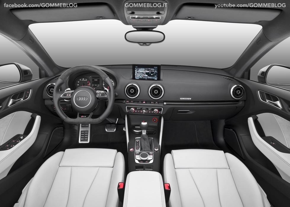 Nuova Audi RS 3 Sportback – La GALLERIA IMMAGINI COMPLETA 52