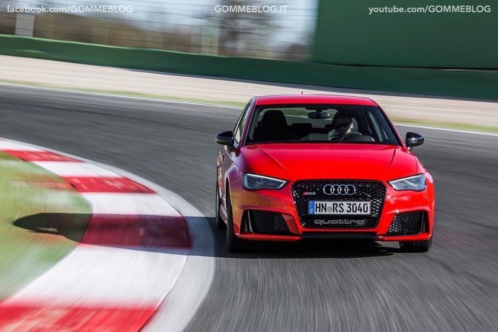 Nuova Audi RS 3 Sportback – La GALLERIA IMMAGINI COMPLETA 41