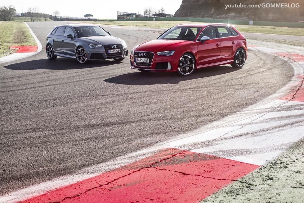 Nuova Audi RS 3 Sportback – La GALLERIA IMMAGINI COMPLETA 42