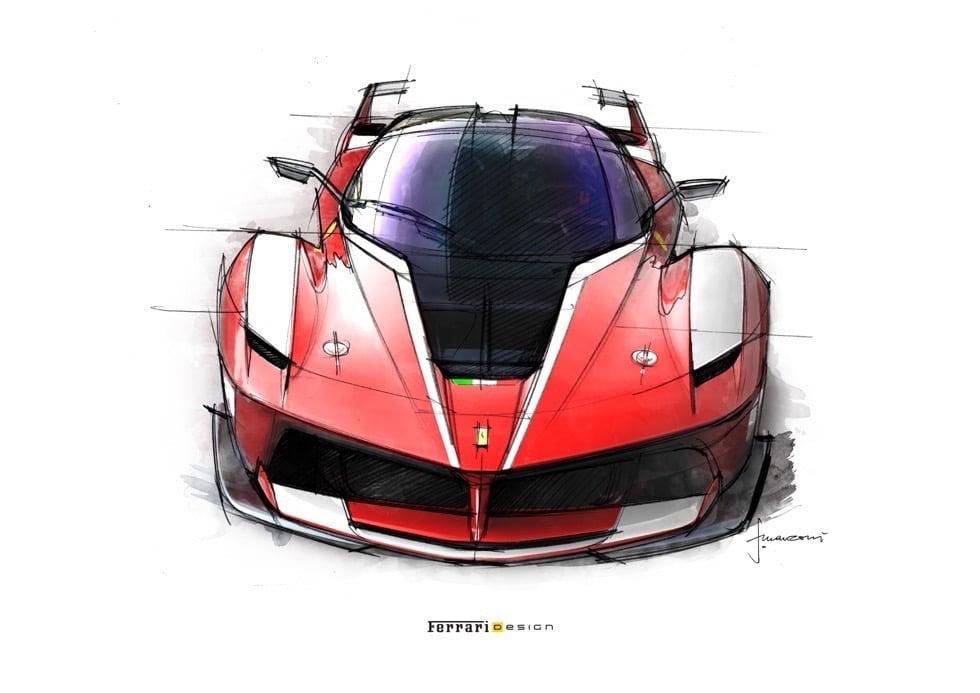 Ferrari FXX K: La Bellezza delle Prestazioni [VIDEO] [IMMAGINI] 10