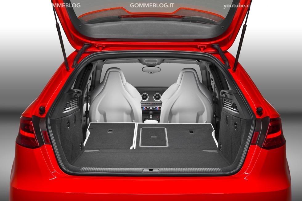 Nuova Audi RS 3 Sportback – La GALLERIA IMMAGINI COMPLETA 17