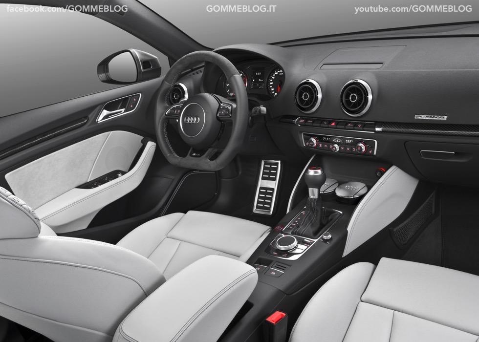 Nuova Audi RS 3 Sportback – La GALLERIA IMMAGINI COMPLETA 20