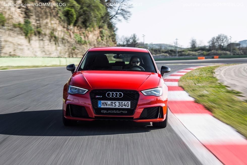 Nuova Audi RS 3 Sportback – La GALLERIA IMMAGINI COMPLETA 26
