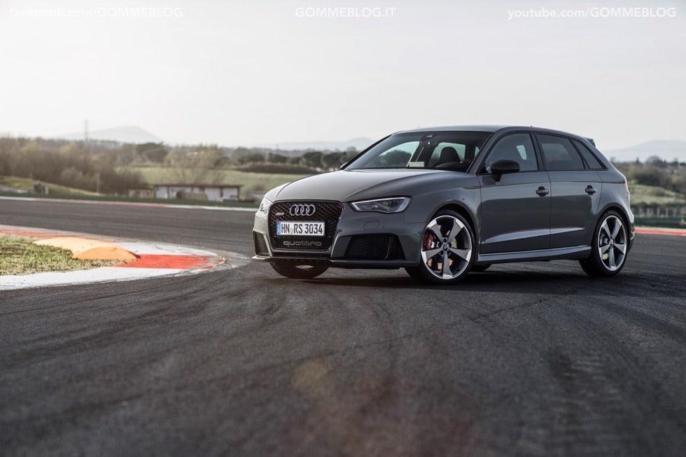 Nuova Audi RS 3 Sportback – La GALLERIA IMMAGINI COMPLETA 29