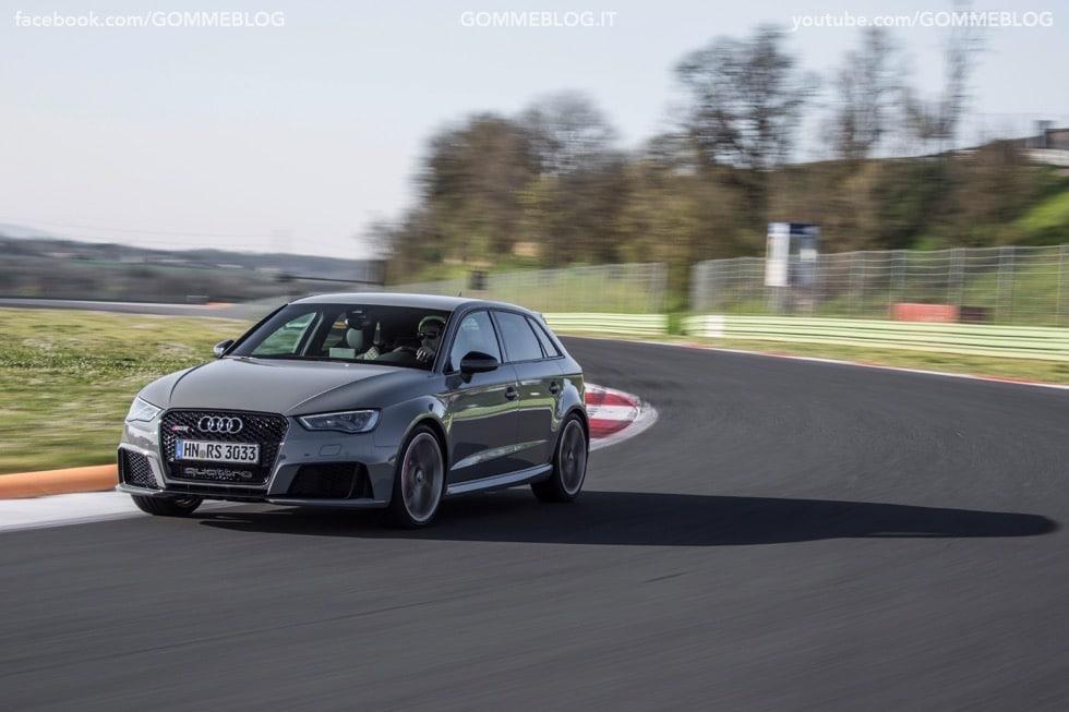 Nuova Audi RS 3 Sportback – La GALLERIA IMMAGINI COMPLETA 32