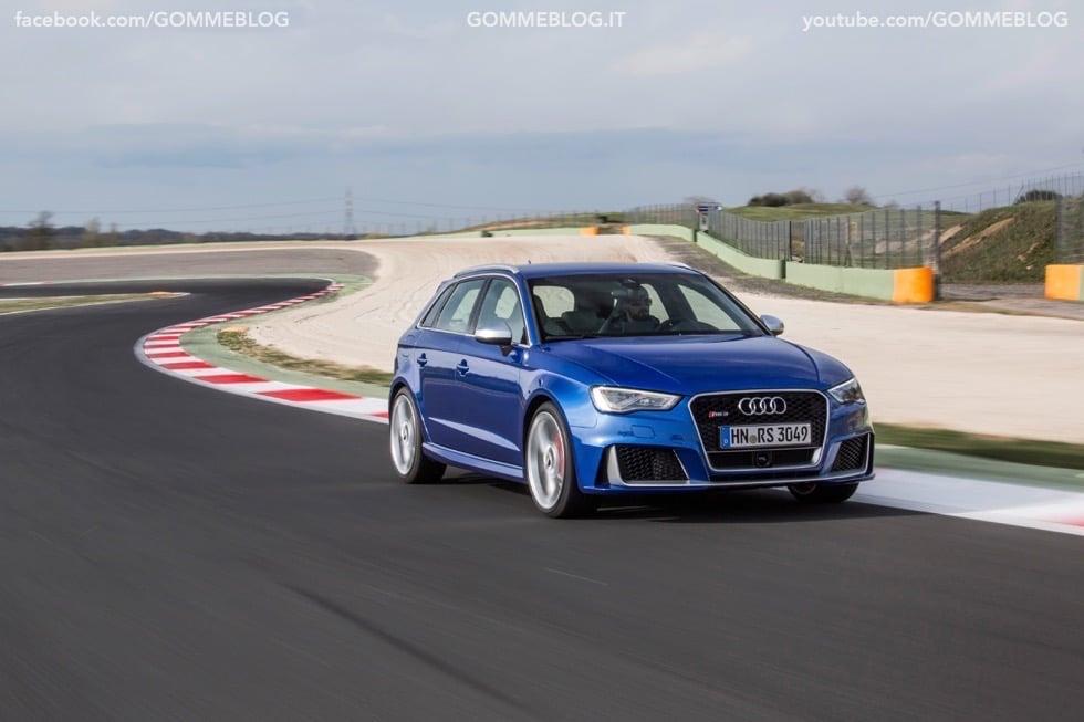Nuova Audi RS 3 Sportback – La GALLERIA IMMAGINI COMPLETA 34