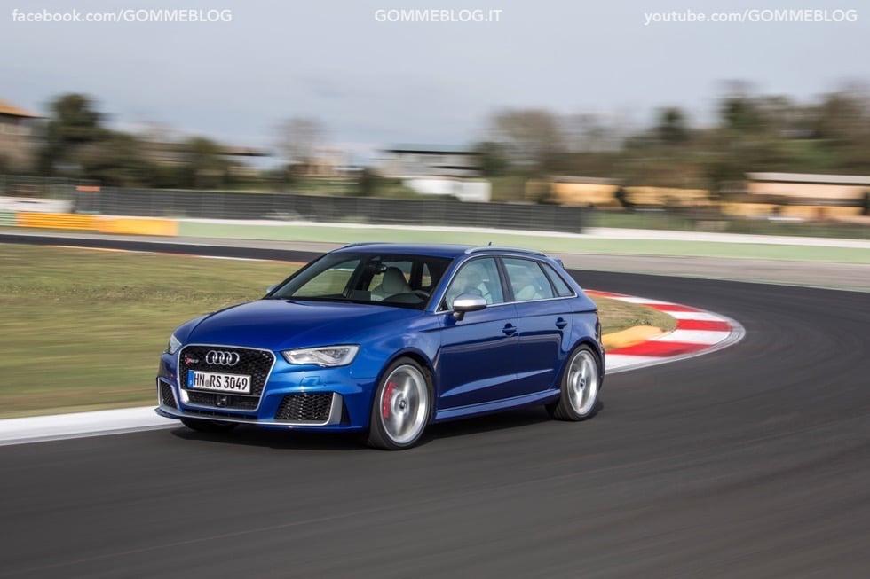 Nuova Audi RS 3 Sportback – La GALLERIA IMMAGINI COMPLETA 36