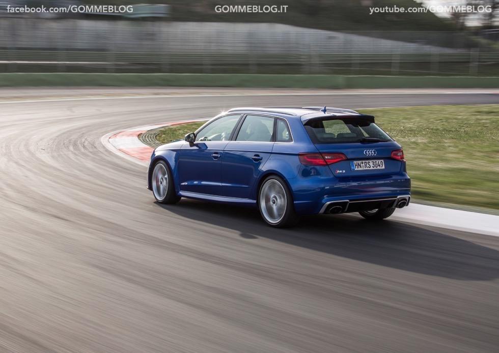 Nuova Audi RS 3 Sportback – La GALLERIA IMMAGINI COMPLETA 37