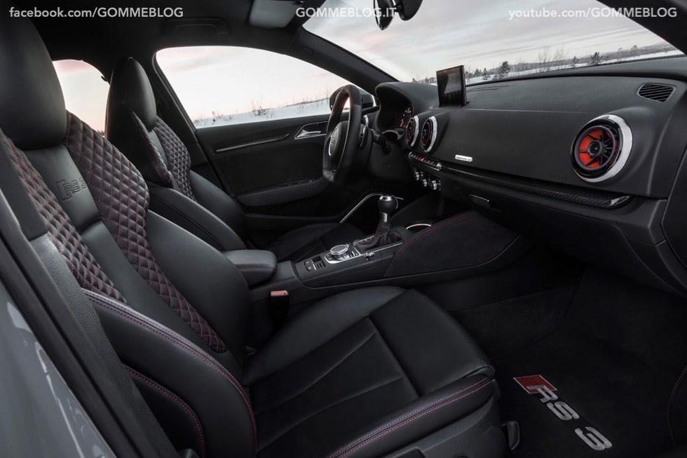 Nuova Audi RS 3 Sportback – La GALLERIA IMMAGINI COMPLETA 8