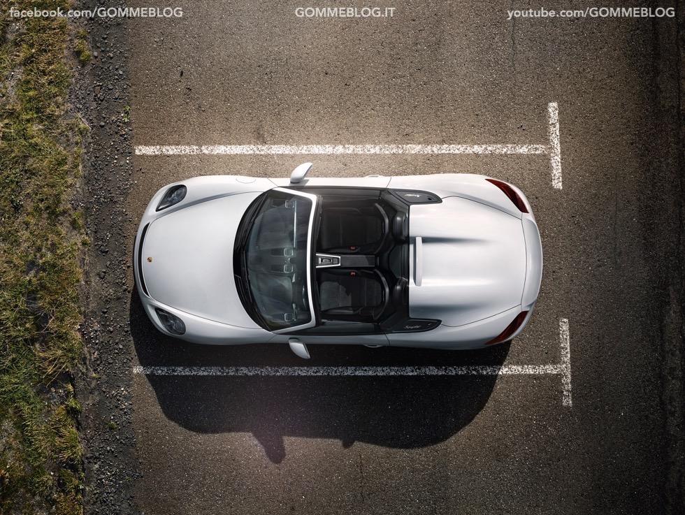 Porsche Boxster Spyder: 375 CV e componenti 911 Carrera 5