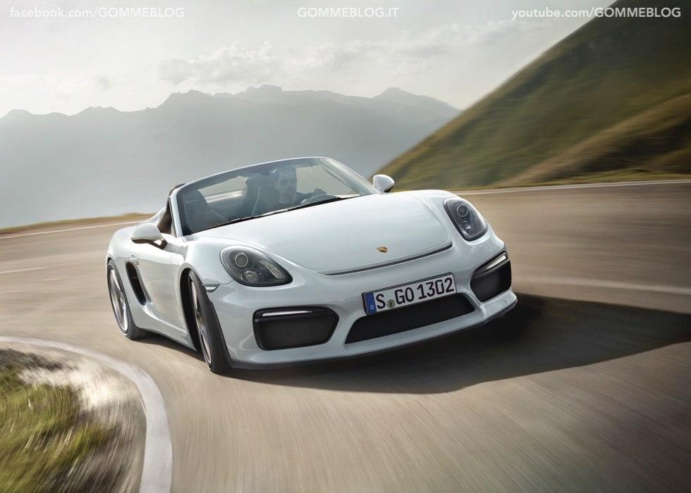 Porsche Boxster Spyder: 375 CV e componenti 911 Carrera