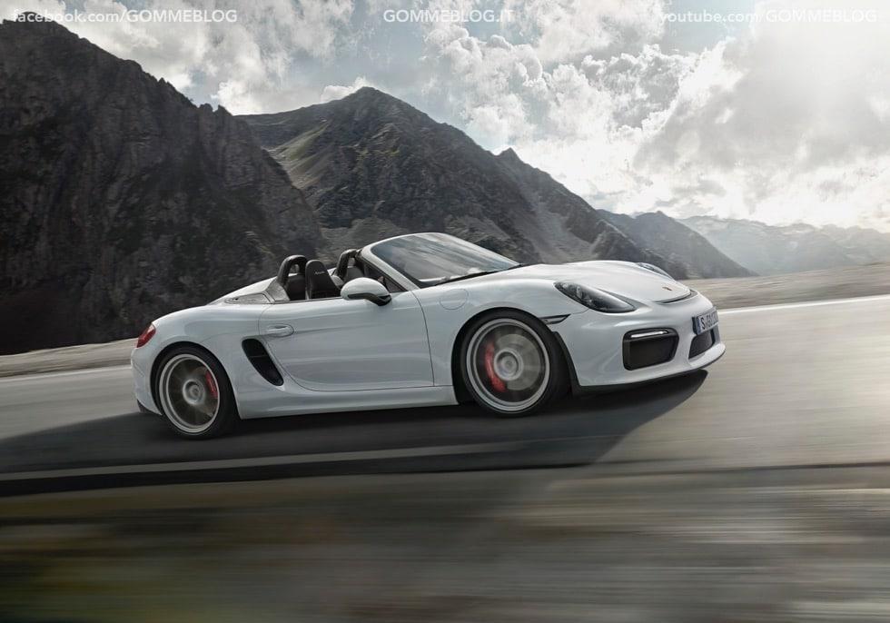 Porsche Boxster Spyder: 375 CV e componenti 911 Carrera 1