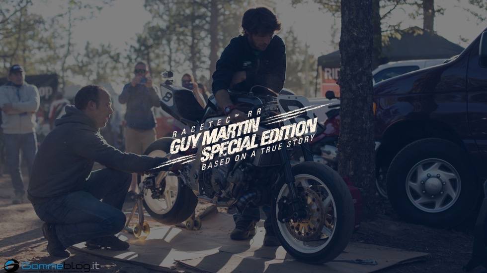 TT Tourist Trophy 2015: Guy Martin e METZELER RACETEC RR Special Edition 1