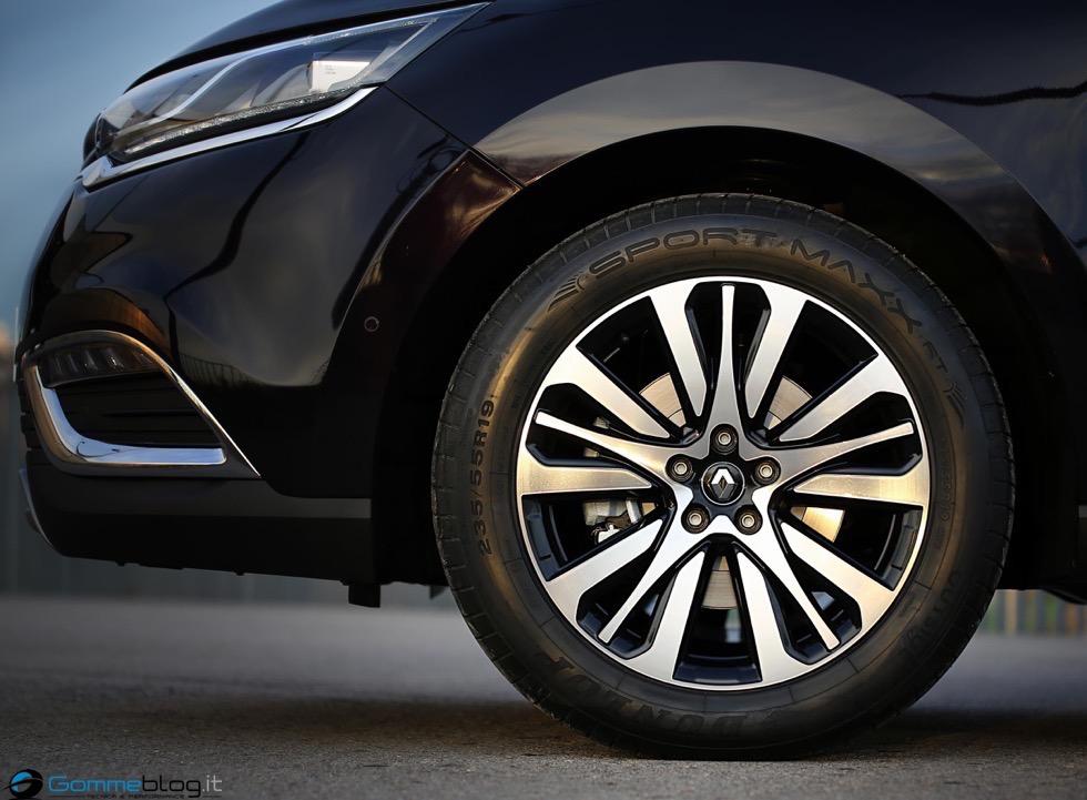 "La nuova Renault Espace ""calza"" pneumatici Dunlop Sport Maxx RT"