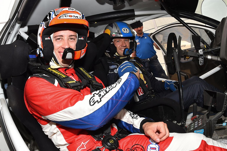 WRC Sardegna 2015: La MotoGP incontra il WRC 1