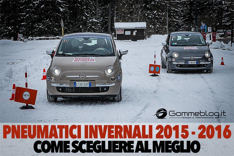 Gomme Invernali: come scegliere i pneumatici M+S 2015 – 2016