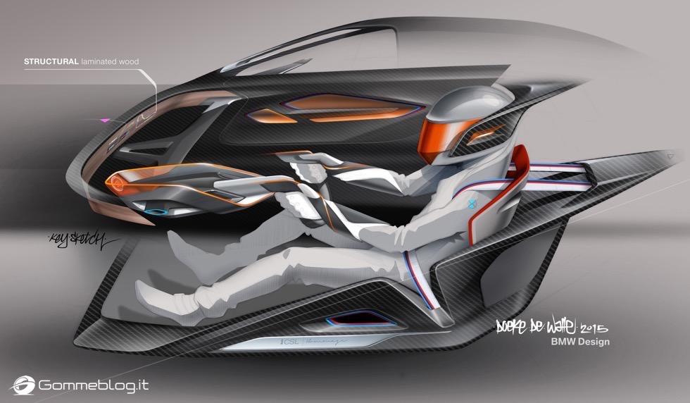 BMW 3.0 CSL Hommage R - Concorso d'Eleganza di Pebble Beach 2015 12