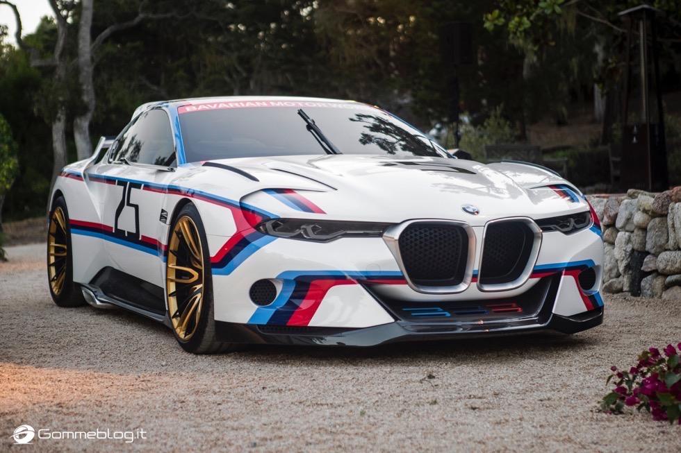 BMW 3.0 CSL Hommage R - Concorso d'Eleganza di Pebble Beach 2015 73