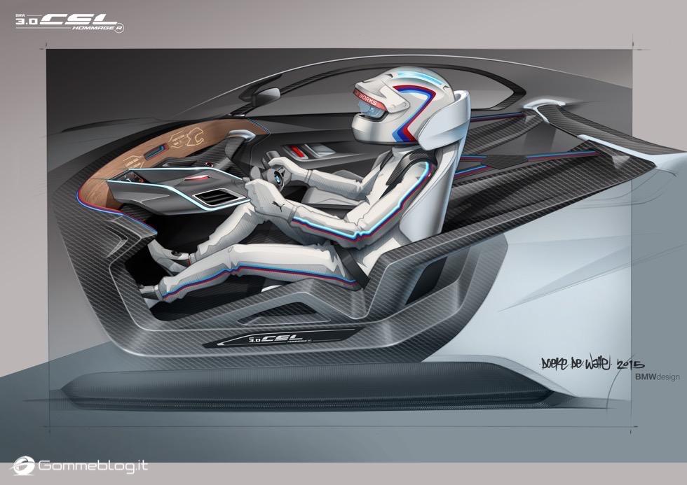BMW 3.0 CSL Hommage R - Concorso d'Eleganza di Pebble Beach 2015 10