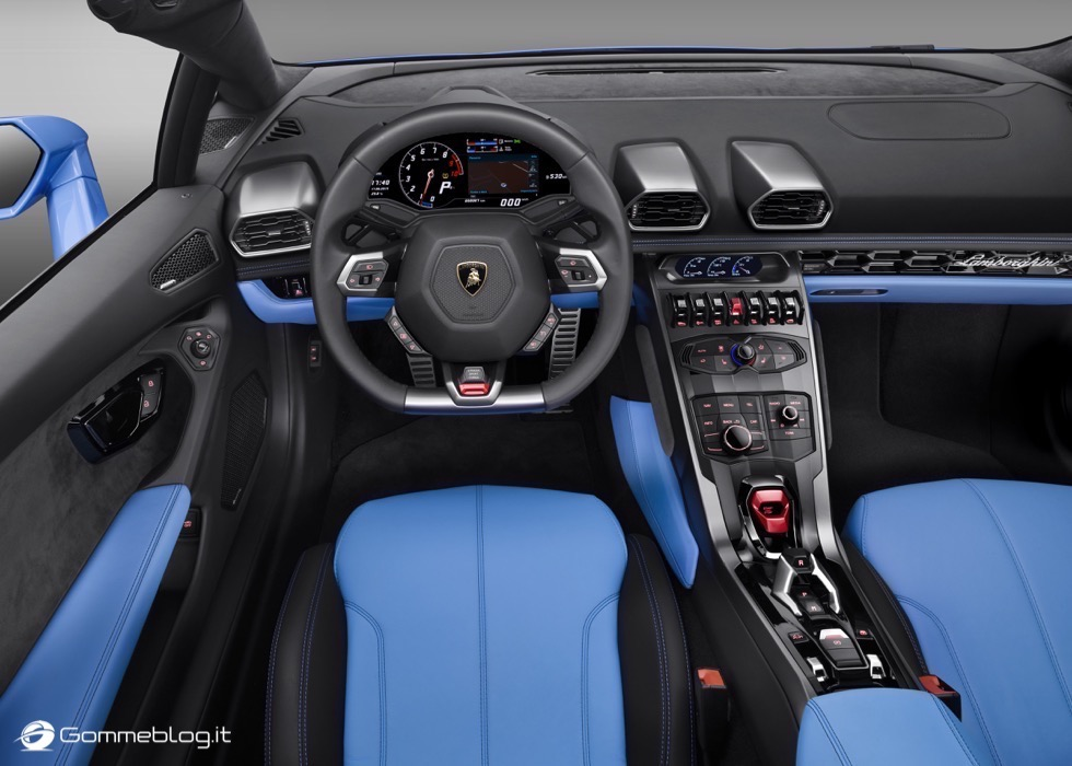 Lamborghini Huracán LP 610-4 Spyder : FULL GALLERY 4