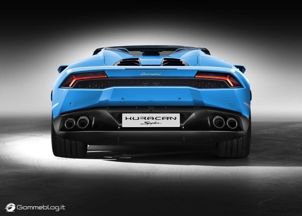 Lamborghini Huracán LP 610-4 Spyder : FULL GALLERY 7