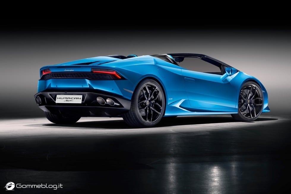 Lamborghini Huracán LP 610-4 Spyder : FULL GALLERY