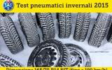 Pneumatici Invernali 2015 Test TCS: Misura 165/70 R14 81T