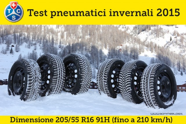 Test Gomme Neve TCS