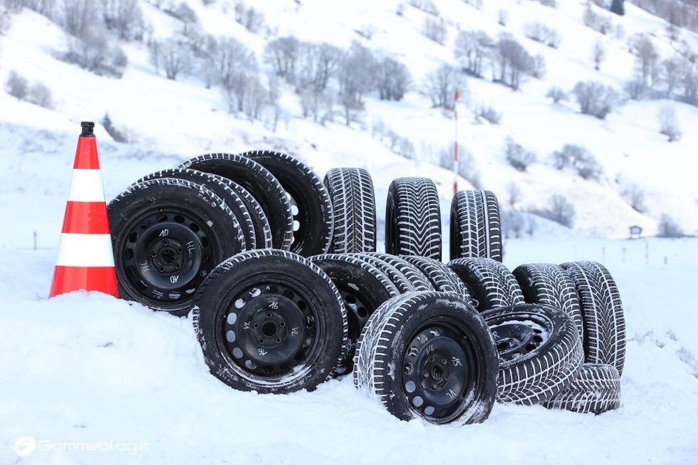 Pneumatici Invernali 2015 Test TCS: Misura 165/70 R14 81T 2