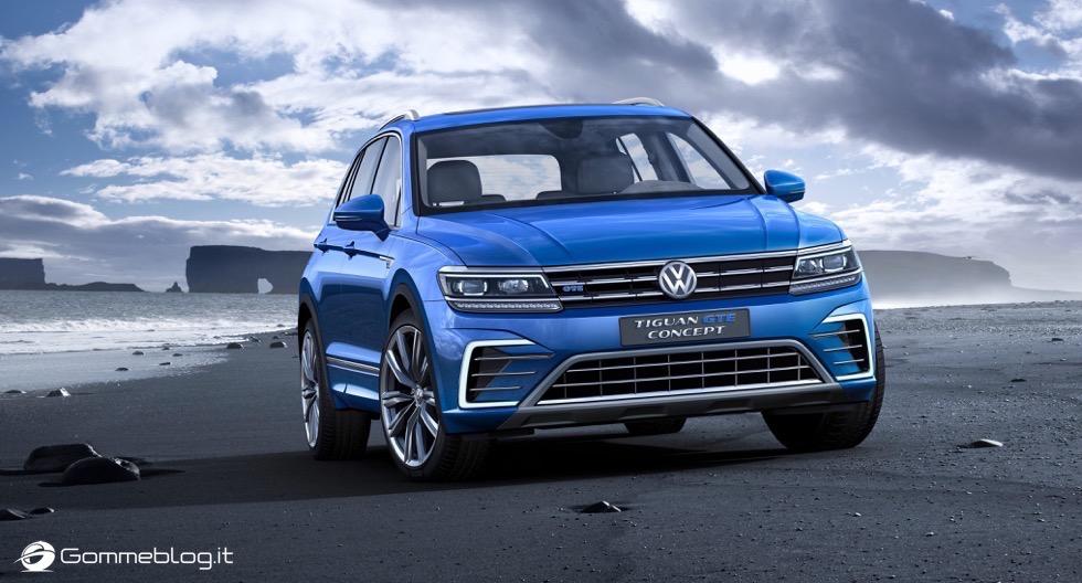 Volkswagen Tiguan 2016: La Galleria Immagini Completa 1