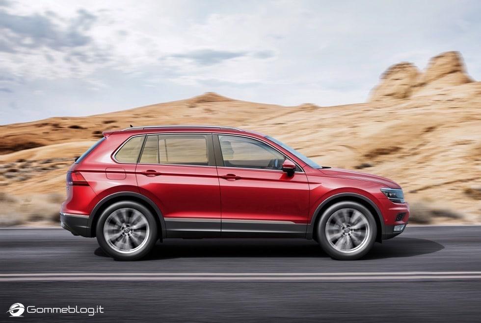 Volkswagen Tiguan 2016: La Galleria Immagini Completa 13