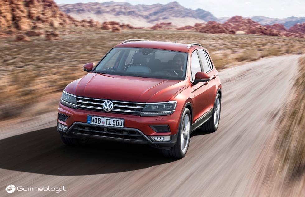 Volkswagen Tiguan 2016: La Galleria Immagini Completa 15