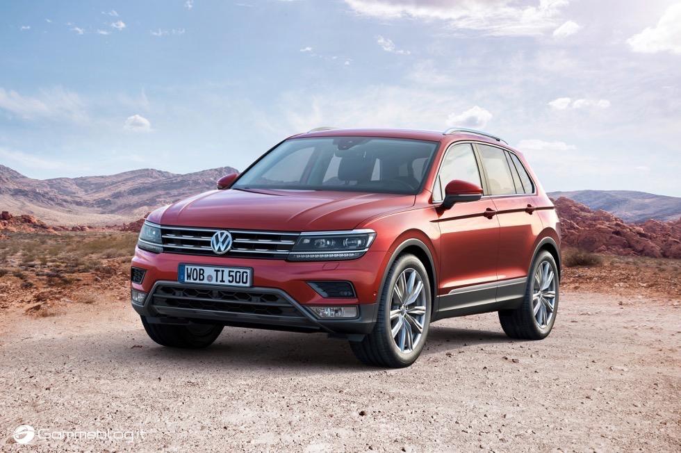 Volkswagen Tiguan 2016: La Galleria Immagini Completa 16