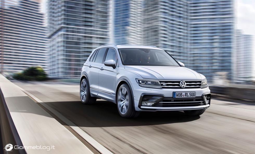 Volkswagen Tiguan 2016: La Galleria Immagini Completa 5