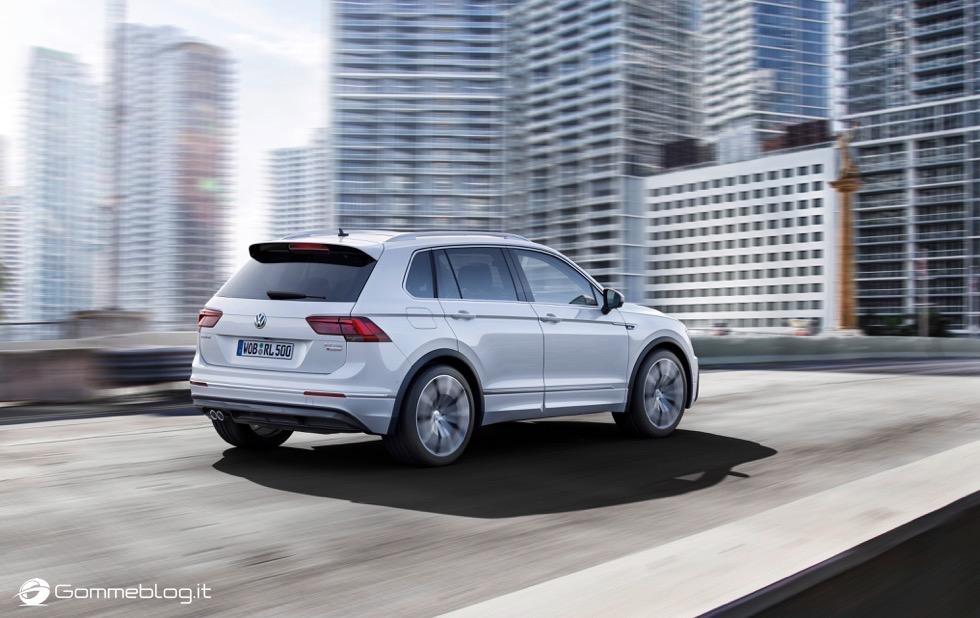 Volkswagen Tiguan 2016: La Galleria Immagini Completa 6