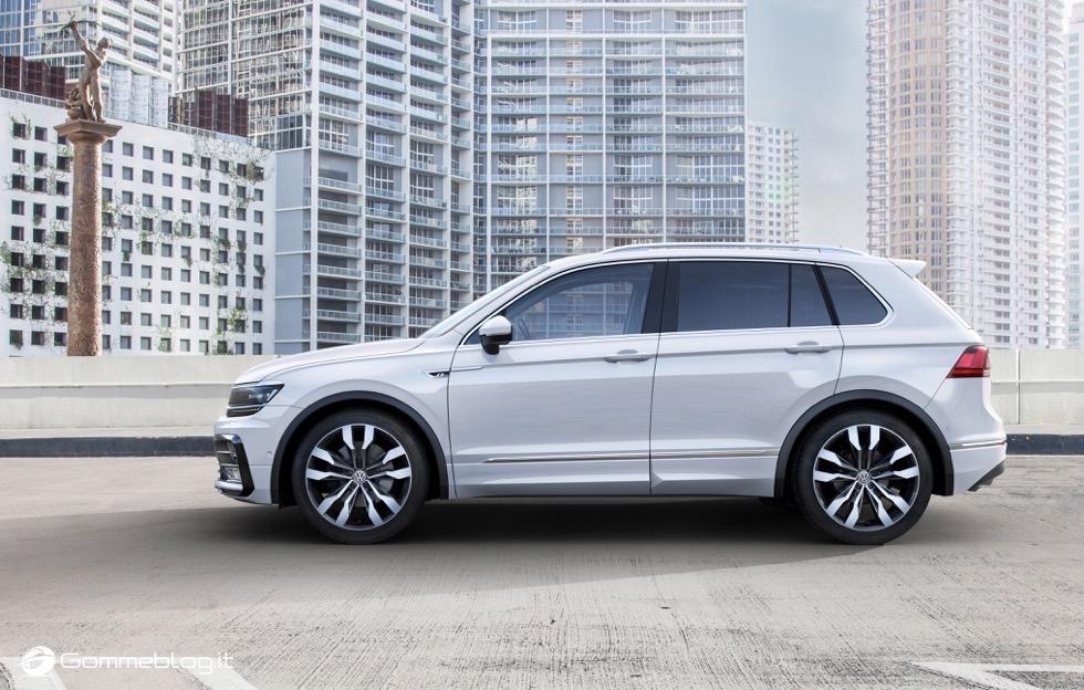Volkswagen Tiguan 2016: La Galleria Immagini Completa 7