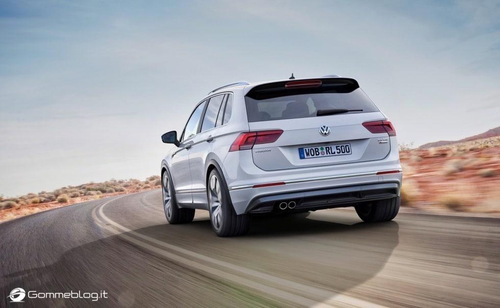 Volkswagen Tiguan 2016: La Galleria Immagini Completa 8