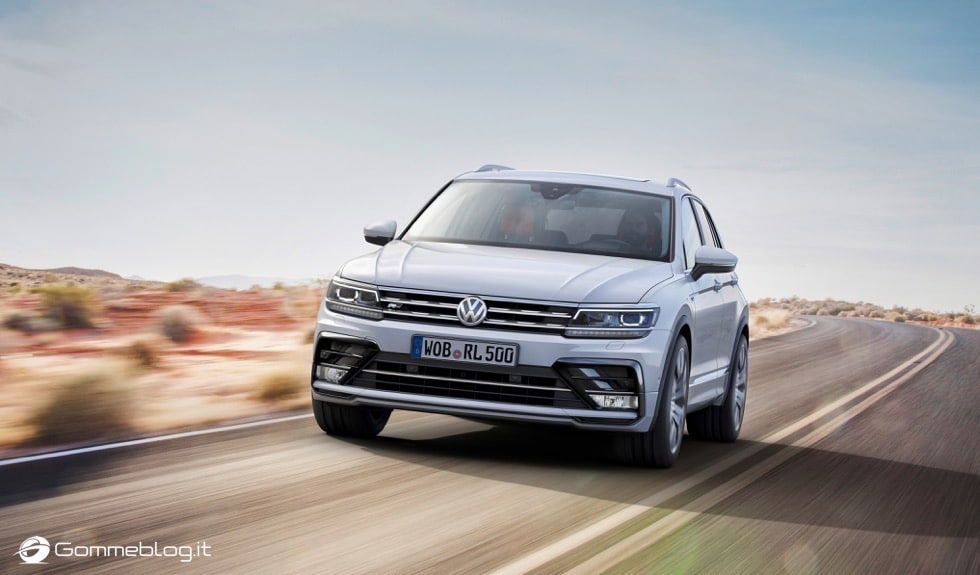 Volkswagen Tiguan 2016: La Galleria Immagini Completa
