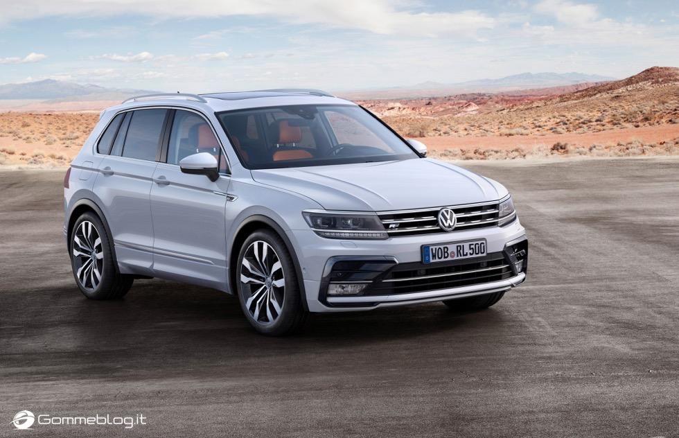 Volkswagen Tiguan 2016: La Galleria Immagini Completa 10