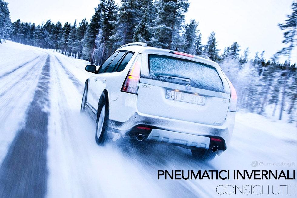 Sulle strade arriva l'inverno, ecco i consigli su pneumatici invernali che cerchi