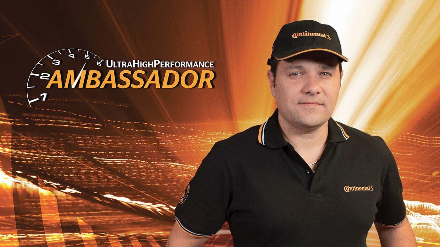 Continental presenta il progetto UHP Ambassador
