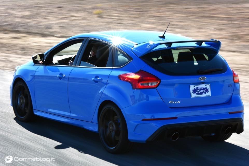 La nuova Ford Focus RS: per lei gomme MICHELIN Pilot Sport Cup 2 e Pilot Super Sport 11