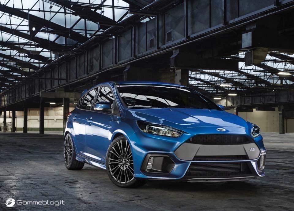 La nuova Ford Focus RS: per lei gomme MICHELIN Pilot Sport Cup 2 e Pilot Super Sport 12