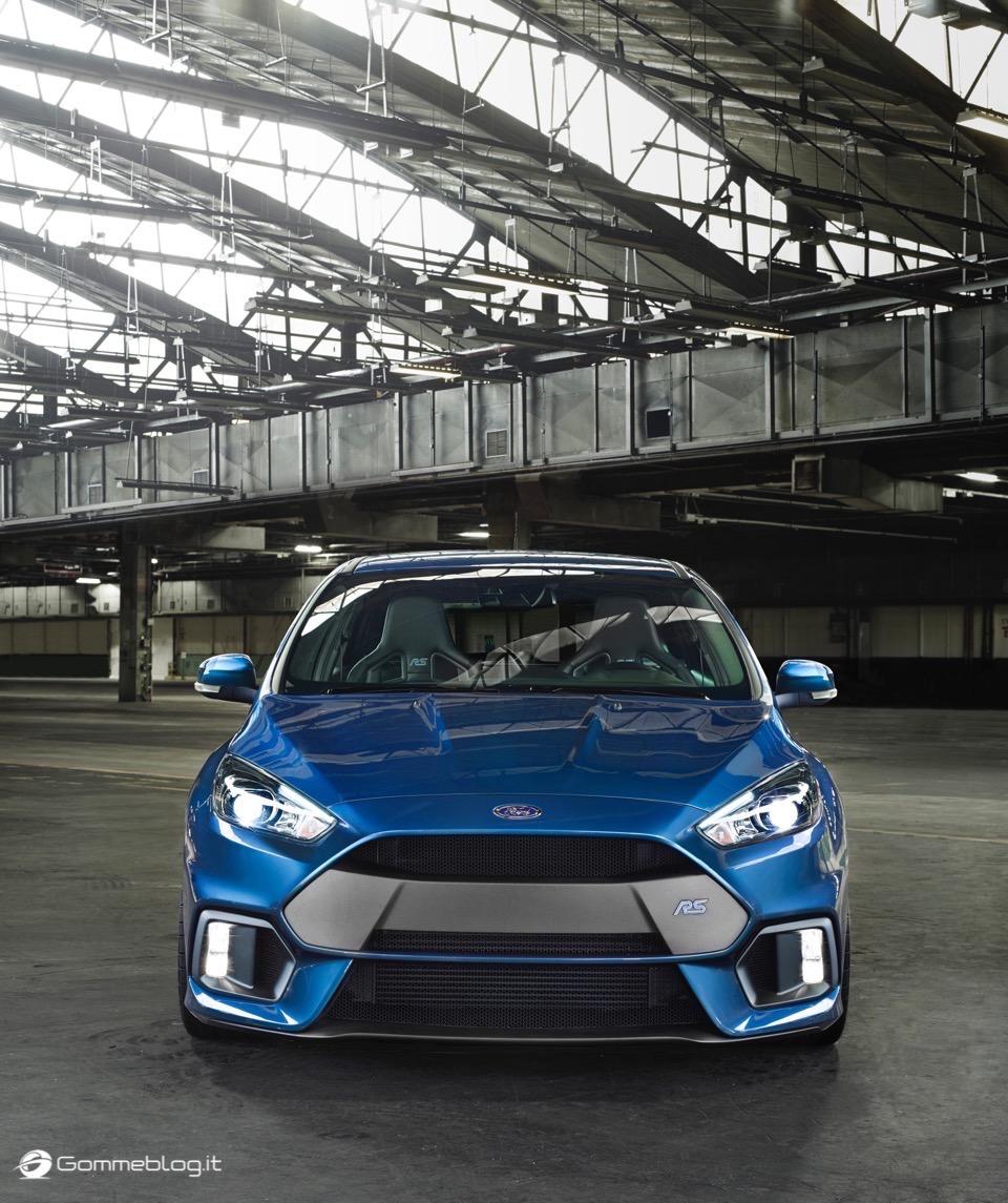 La nuova Ford Focus RS: per lei gomme MICHELIN Pilot Sport Cup 2 e Pilot Super Sport 16
