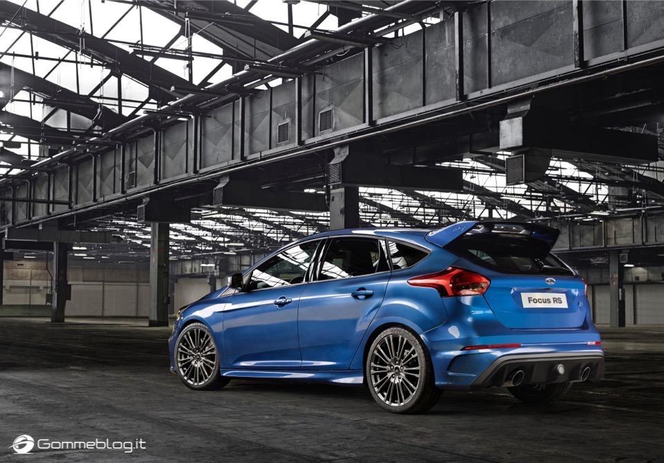 La nuova Ford Focus RS: per lei gomme MICHELIN Pilot Sport Cup 2 e Pilot Super Sport 9