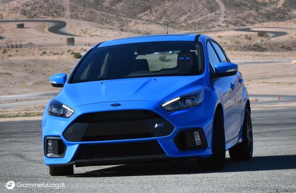 La nuova Ford Focus RS: per lei gomme MICHELIN Pilot Sport Cup 2 e Pilot Super Sport 17