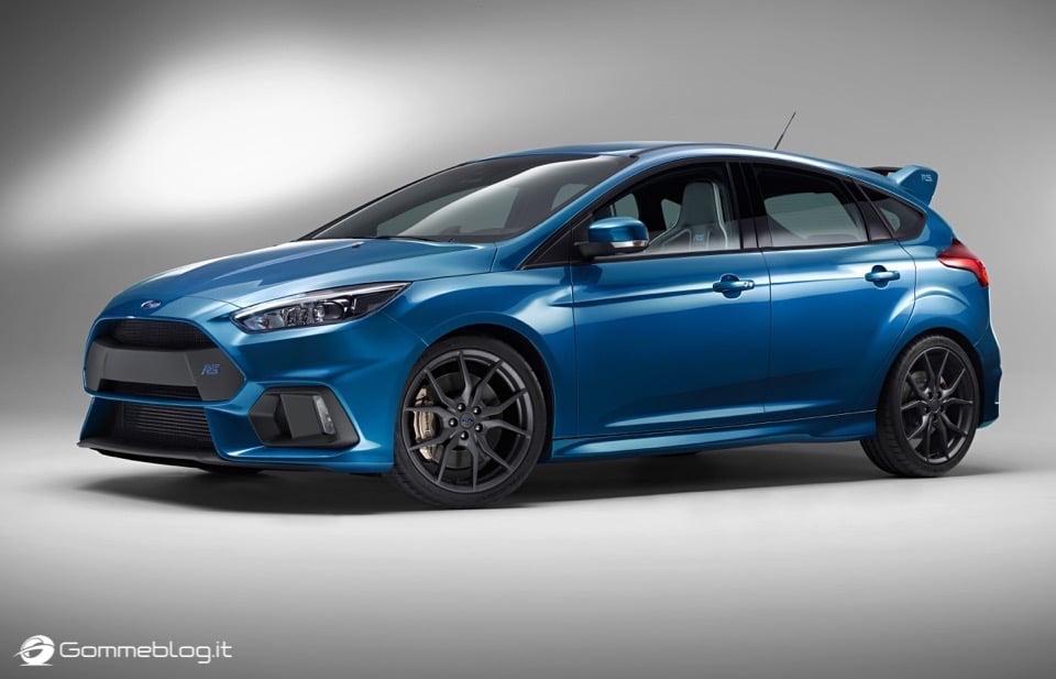 La nuova Ford Focus RS: per lei gomme MICHELIN Pilot Sport Cup 2 e Pilot Super Sport 18