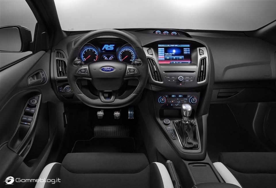 La nuova Ford Focus RS: per lei gomme MICHELIN Pilot Sport Cup 2 e Pilot Super Sport 6